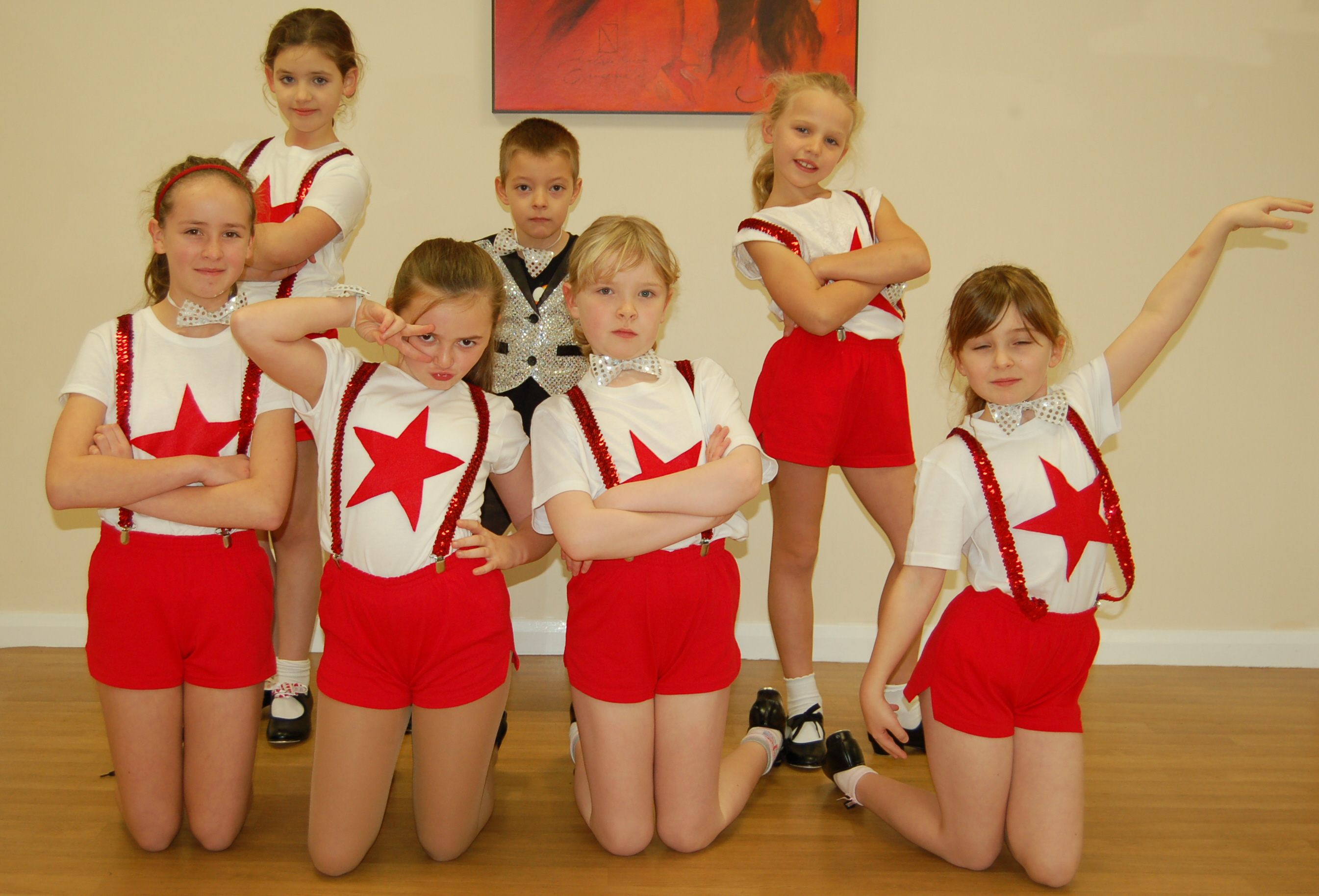Children's tap dancing lessons