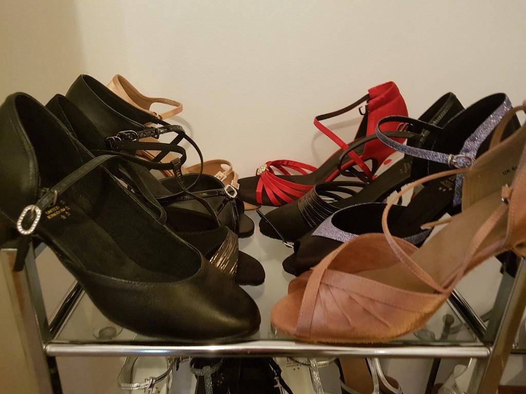 Latin dance sandals