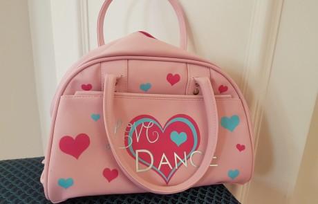 Ballet bag for ballet kit