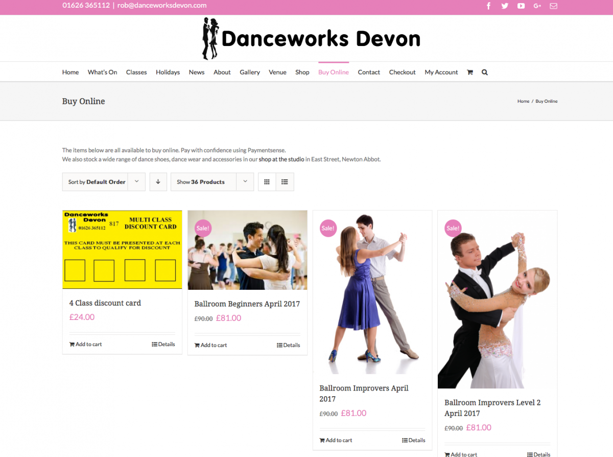 Buy Online Screenshot