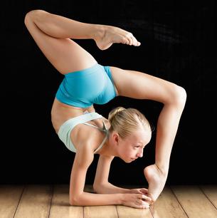 Acrobatic dance for children