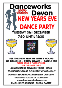 New year party dance
