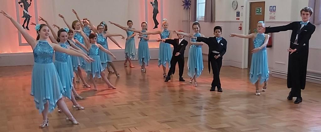 Children's ballroom dance classes