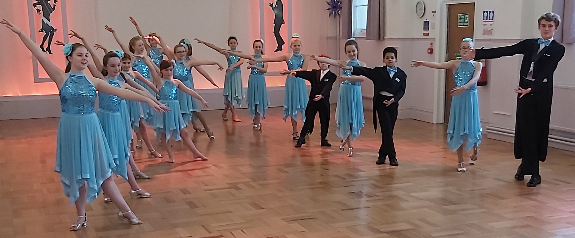 Children's ballroom dance classes