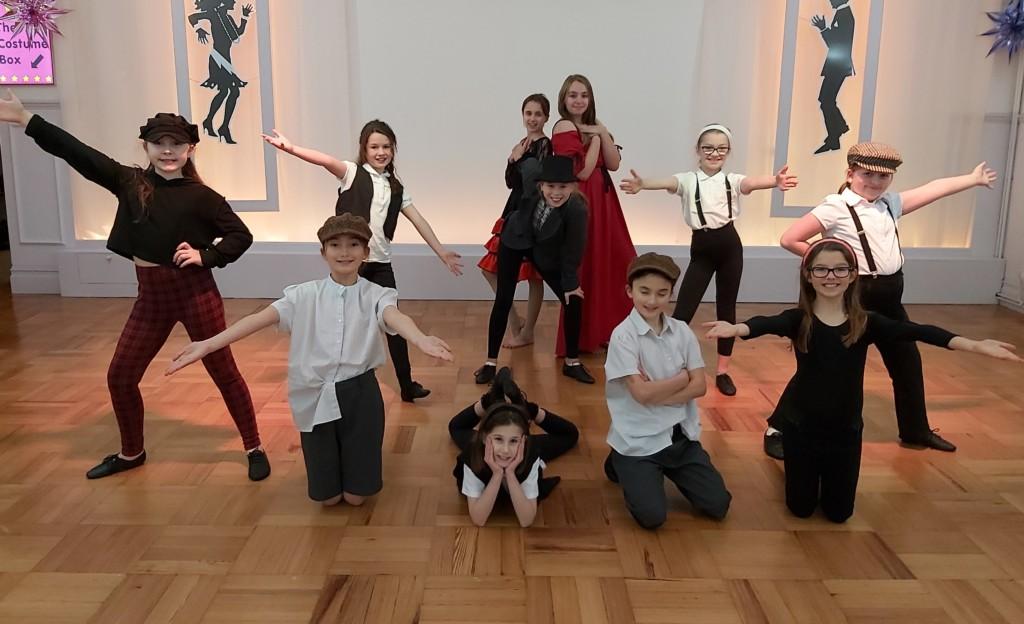 Monday children's dance class