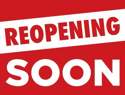 Reopening…Saturday 25th July